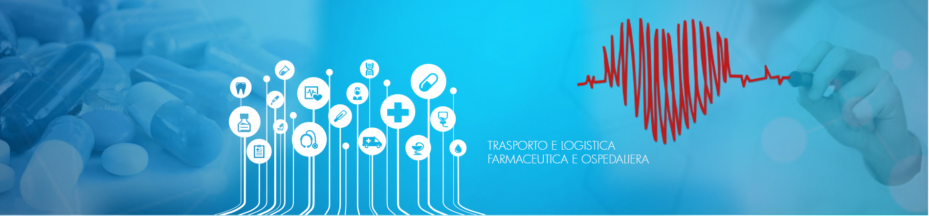 Trasporto di dispositivi medici - Trasporto di reagenti chimici - Logistica farmaceutica - Logistica Ospedaliera - Logistica Farmaceutica - Trasporto cosmetici - Trasporto farmaci e medicinali