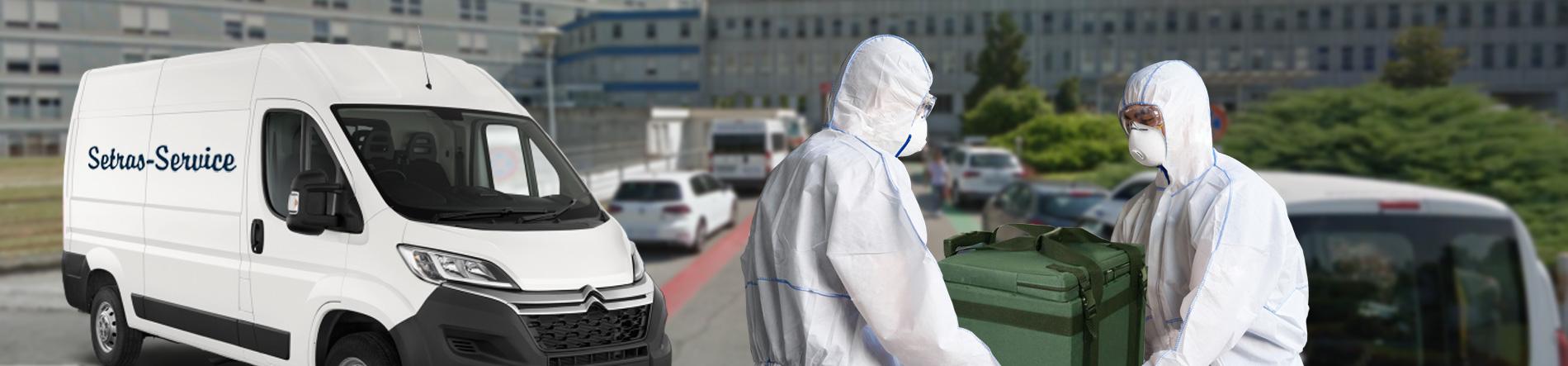Trasporto dispositivi Medici | Trasporto farmaci Covid